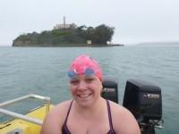Marthon Swimmer Elaine Howley