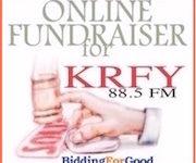 Online auction to benefit 88.5 KRFY Community Radio in Sandpoint, Idaho